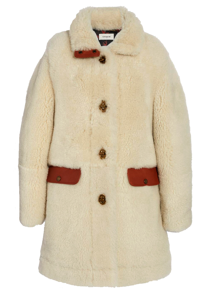 Coach Shearling coat BURO