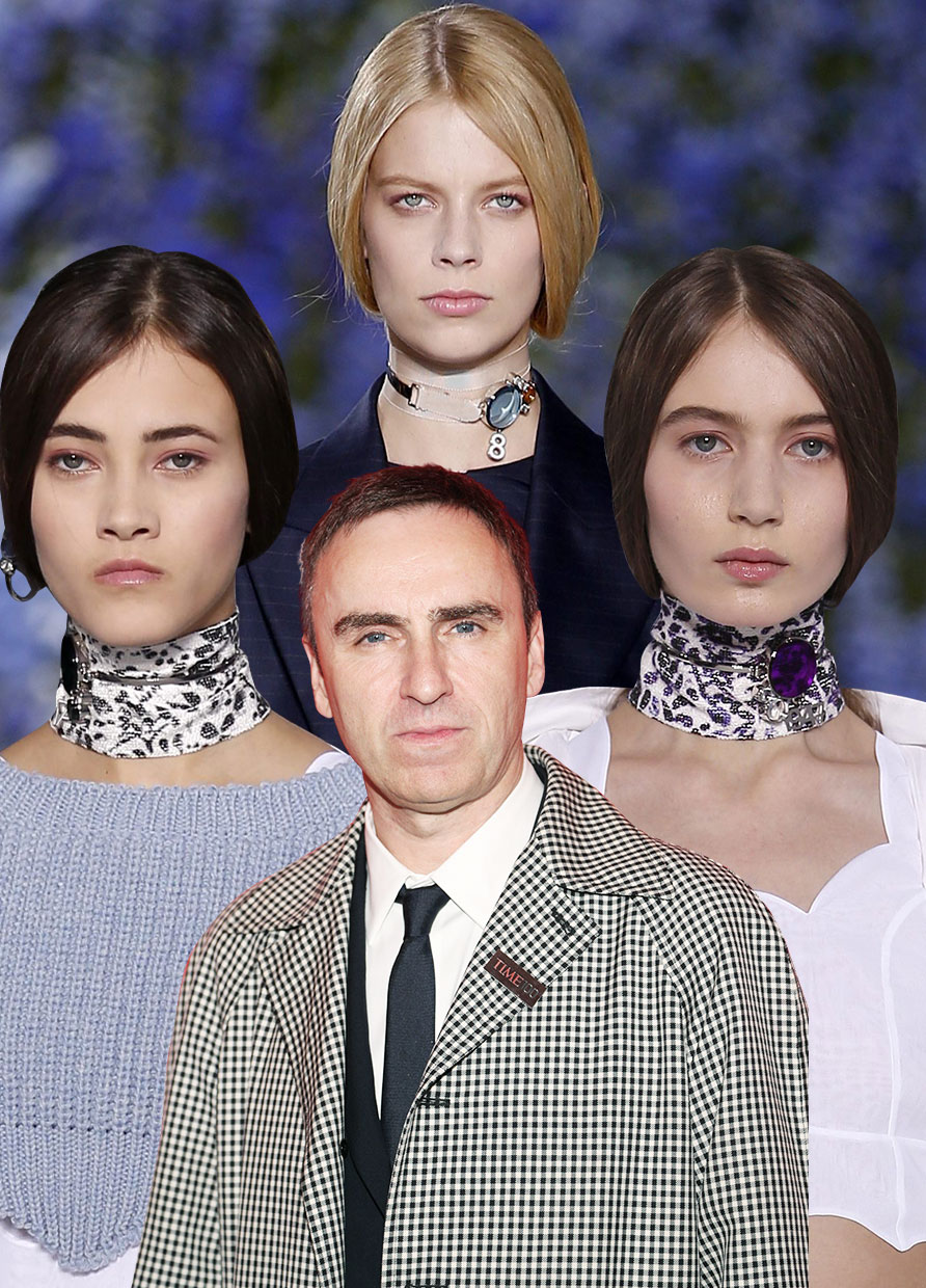 Raf Simons launches his first womenswear line
