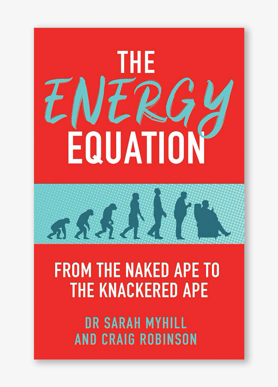 The Energy Equation: From the naked ape to the knackered ape