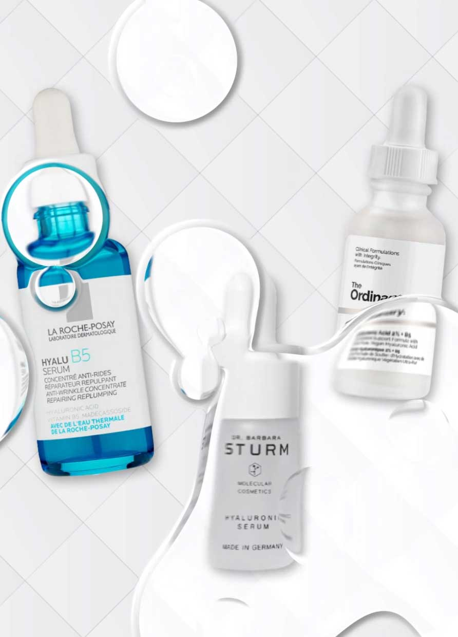 THE VERY BEST HYALURONIC ACID SERUMS YOU CAN BUY