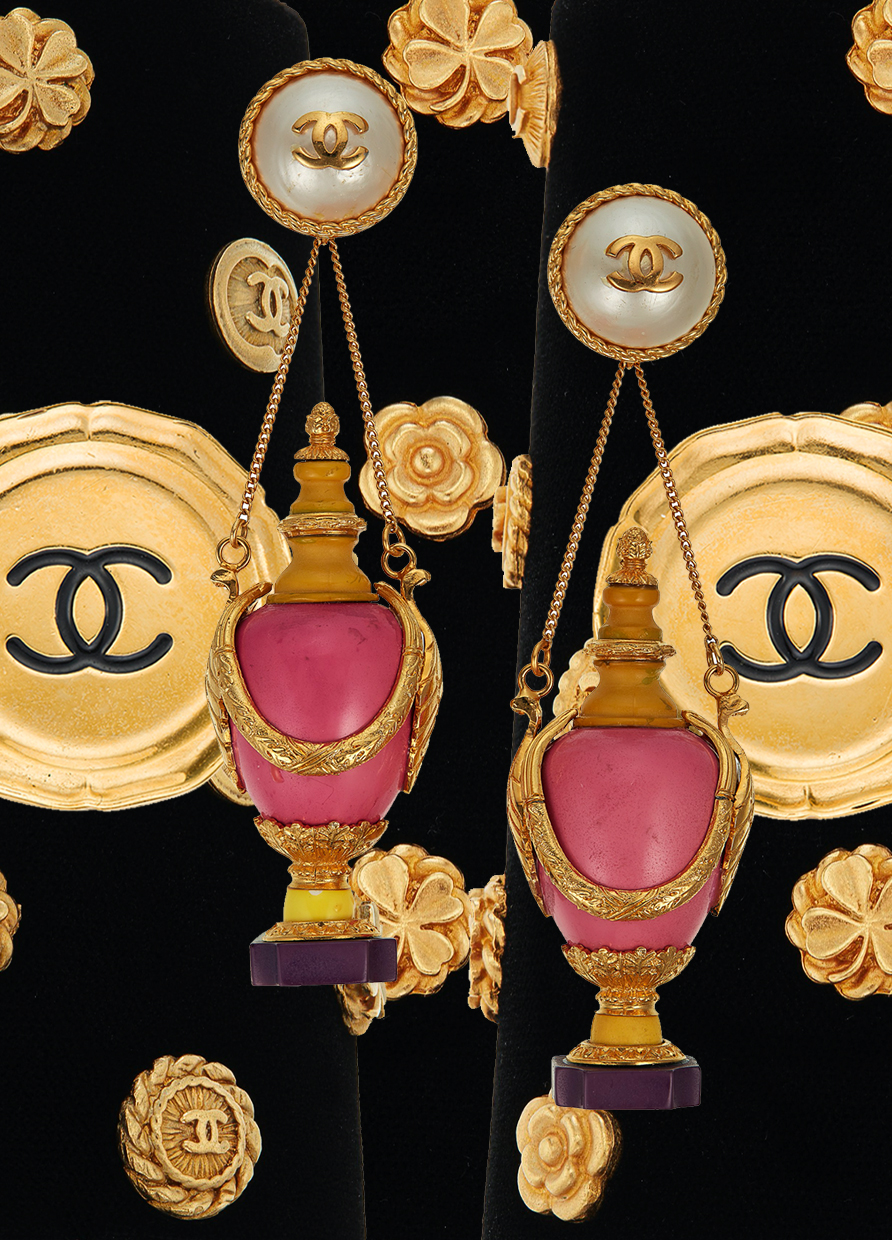 IN THE MARKET FOR A PIECE OF CHANEL COSTUME JEWELLERY?