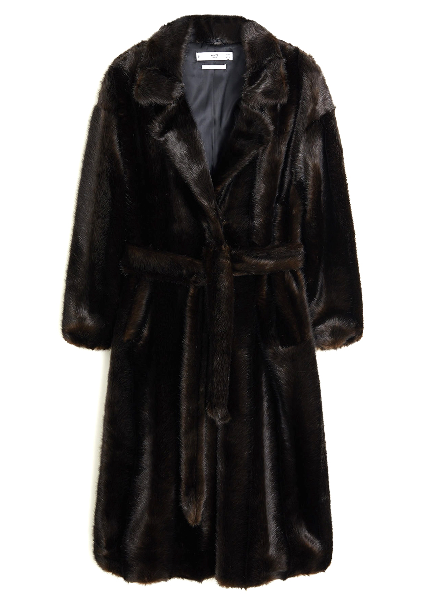 Mango Faux fur coat BURO